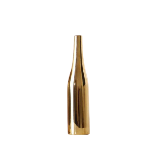 Modern Golden Ceramic Vase- The Home Accessories Company 4