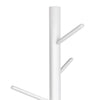Wooden Coat Stand with 6 Hooks - White - The Home Accessories Company 1