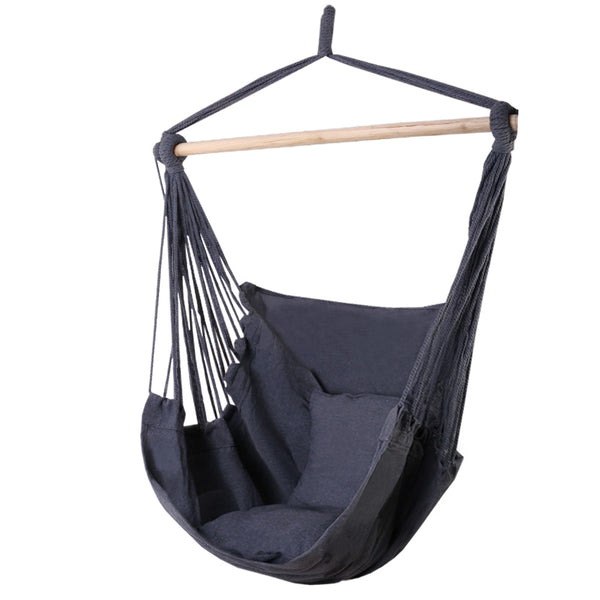 Hammock Swing Chair - Grey - The Home Accessories Company