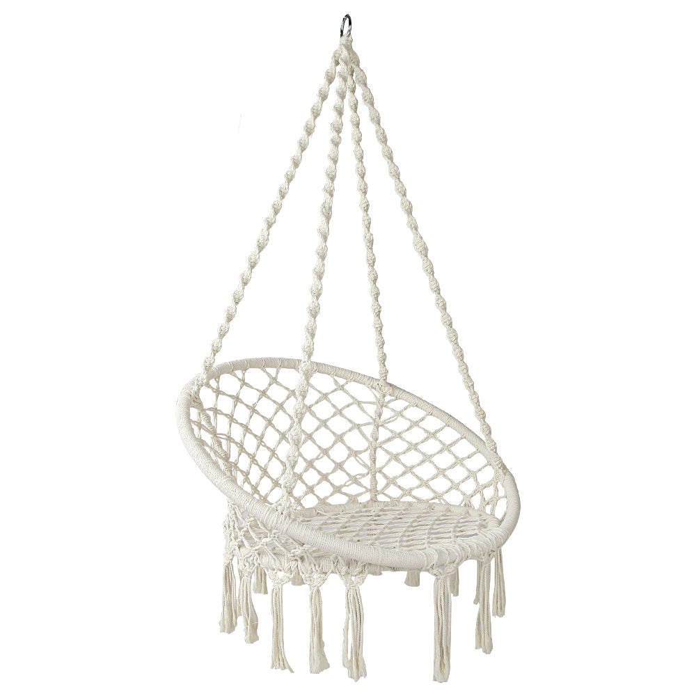Hammock Swing Chair - Cream - The Home Accessories Company