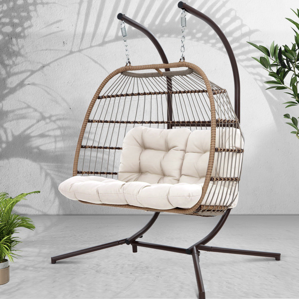Hanging Rattan Swing Chair - The Home Accessories Company 2