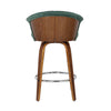 Velvet Fan Kitchen Bar Stool - The Home Accessories Company 1