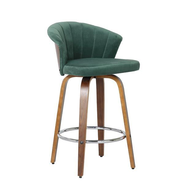 Velvet Fan Kitchen Bar Stool - The Home Accessories Company