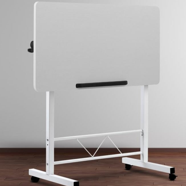 Portable Height Adjustable Laptop Desk -  White - The Home Accessories Company 2