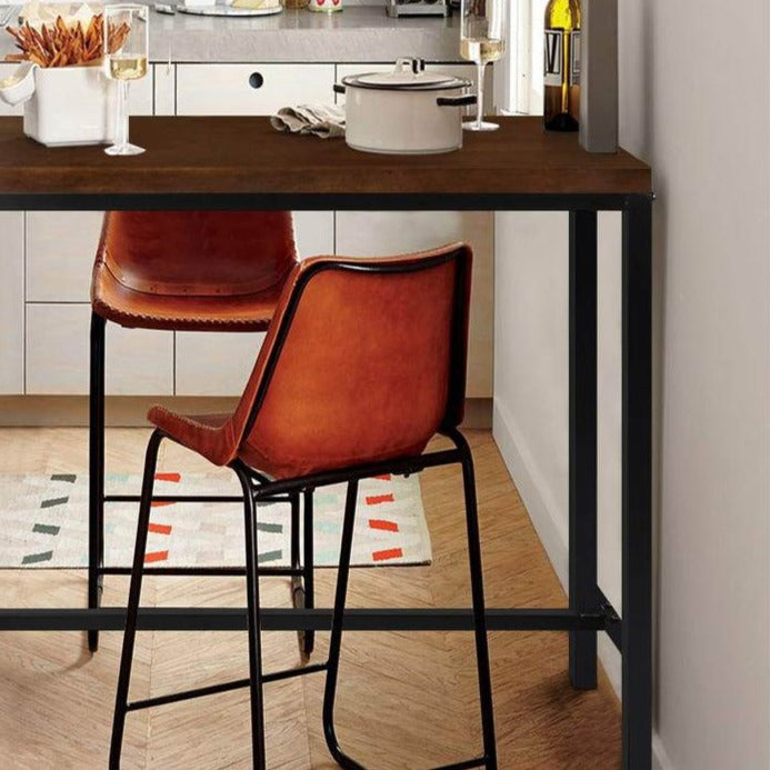 Vintage Industrial High Bar Table - The Home Accessories Company 2
