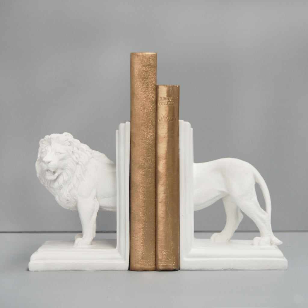 Lion Bookends - Multiple Colours Available - The Home Accessories Company 3