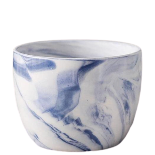 Marble Pattern Ceramic Flower Pot - The Home Accessories Company 7