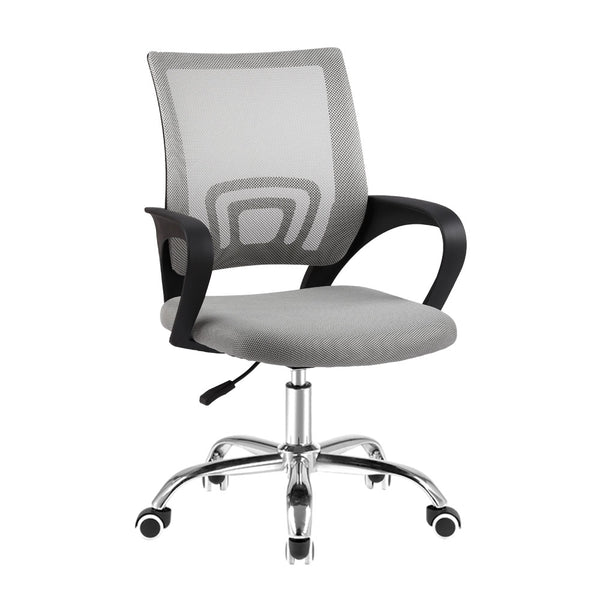 Mesh Office Chair - Grey - The Home Accessories Company