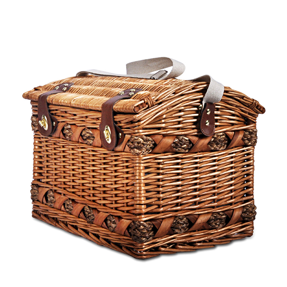 Vintage Style 4 Person Picnic Basket - The Home Accessories Company 1
