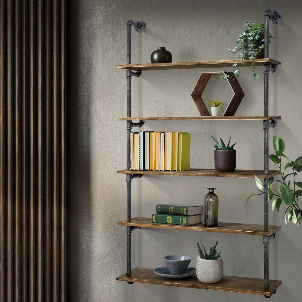 Rustic Industrial Pipe Shelving - The Home Accessories Company 4