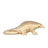 Pangolin Ornament - Gold - The Home Accessories Company