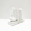 Peacock Bookends -  White - The Home Accessories Company 1