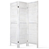 Screen Foldable Room Divider - White - The Home Accessories Company