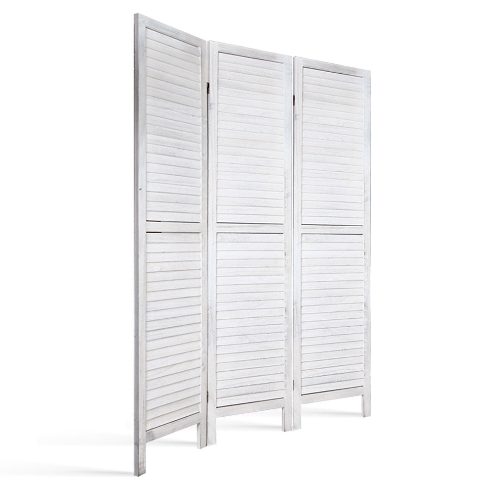 Screen Foldable Room Divider - White - The Home Accessories Company 2