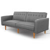 3 Seater Tessa Sofa Bed -  Light Grey - The Home Accessories Company 1