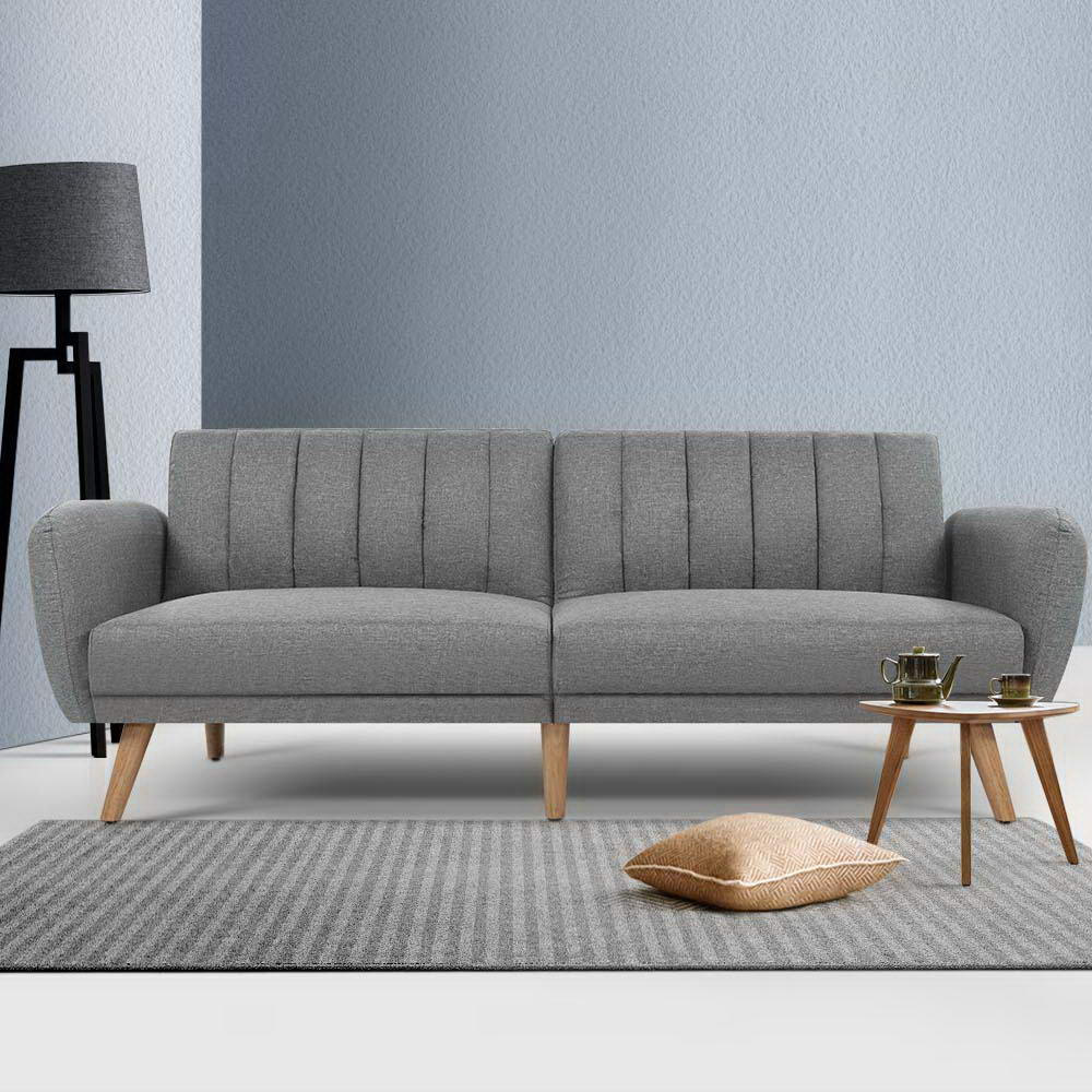 3 Seater Lana Sofa Bed -  Grey - The Home Accessories Company 4