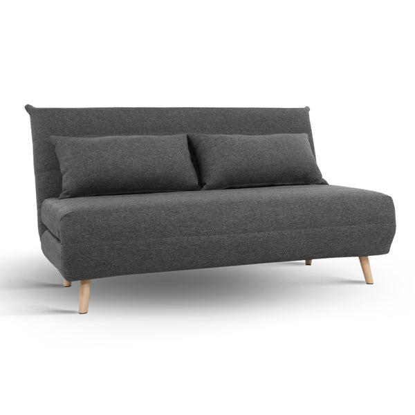 Annie Sofa Bed Lounge - Dark Grey - The Home Accessories Company