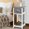 Thyme Bedside Table - Grey - The Home Accessories Company 2
