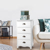 Vintage Bedside Table - White - The Home Accessories Company 2