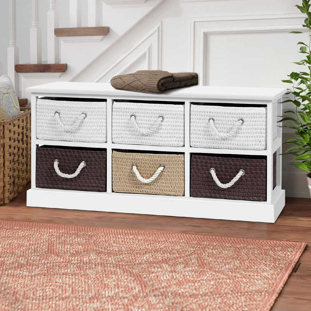 6 Drawers Storage Cabinet - The Home Accessories Company 2