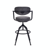 Stainless Steel Frankie Bar Stool - Grey - The Home Accessories Company 4