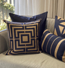 Acapulco Navy Cushion Cover - The Home Accessories Company 2