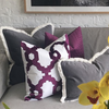 St. Kilda Cushion Cover - Grey - The Home Accessories Company 1