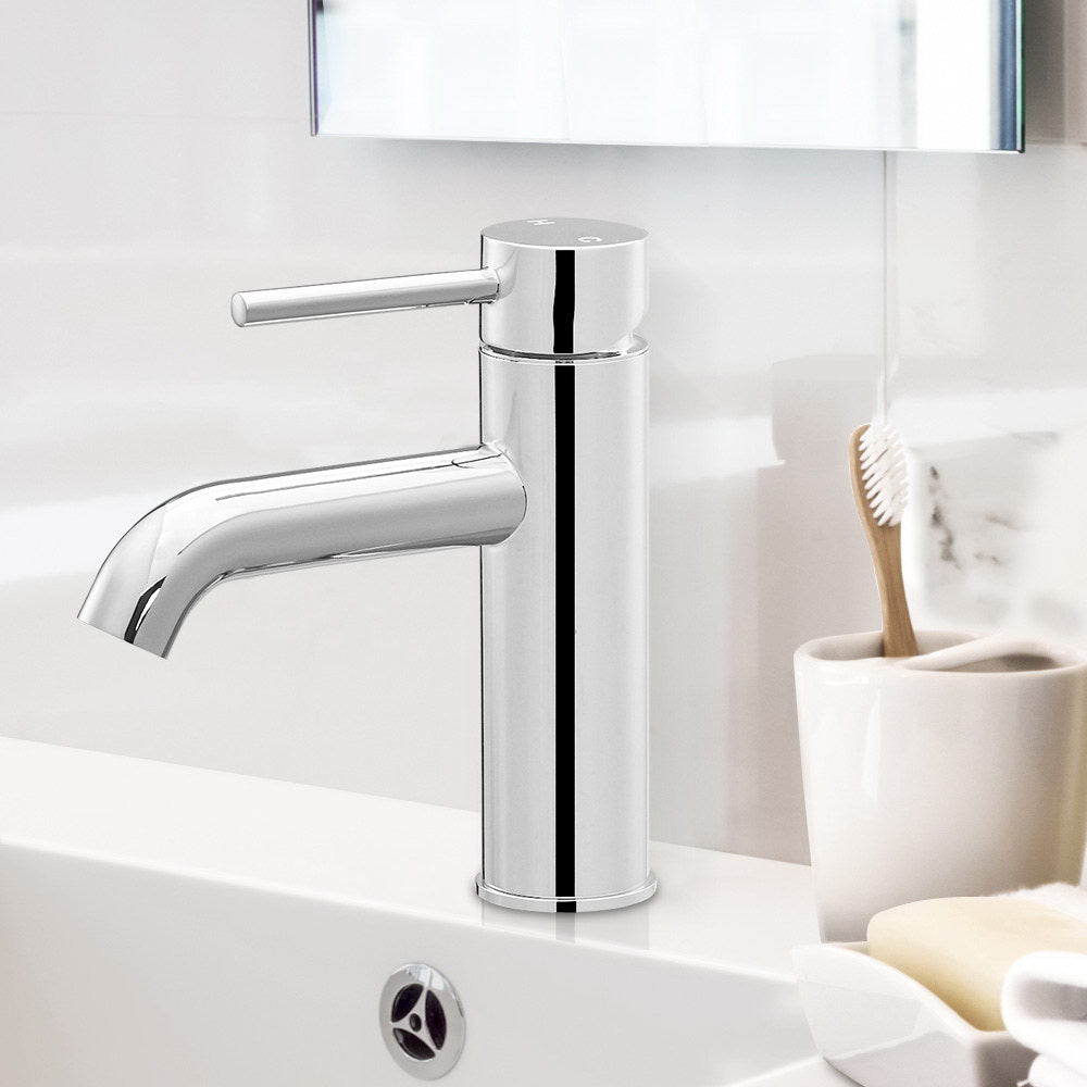 Basin Mixer Tap Faucet Silver - The Home Accessories Company 3