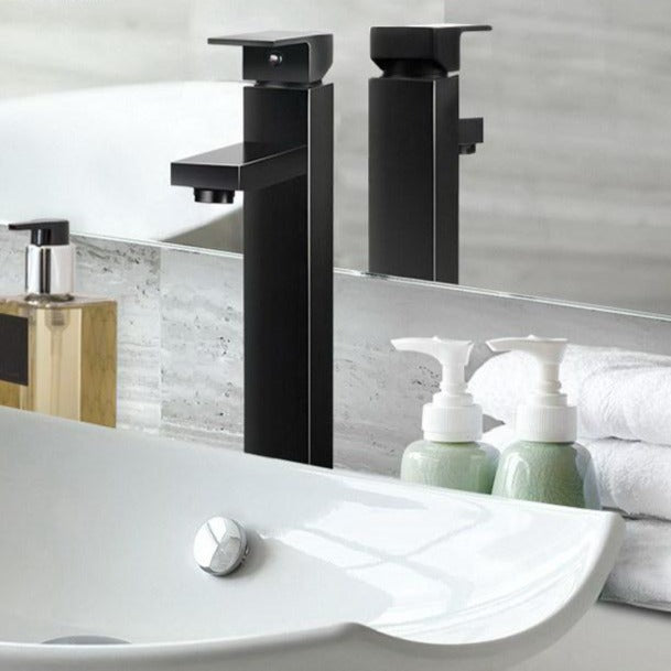 Basin Mixer Tap Faucet - Black - The Home Accessories Company 2