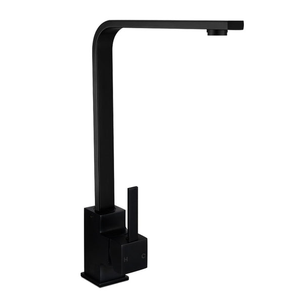 Industrial Kitchen Mixer Tap - Black - The Home Accessories Company