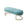 Teale Velvet Ottoman Bench- The Home Accessories Company 1