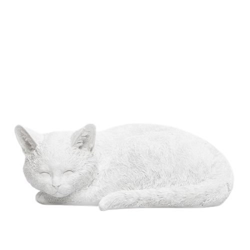 Sleeping Cat - White - The Home Accessories Company