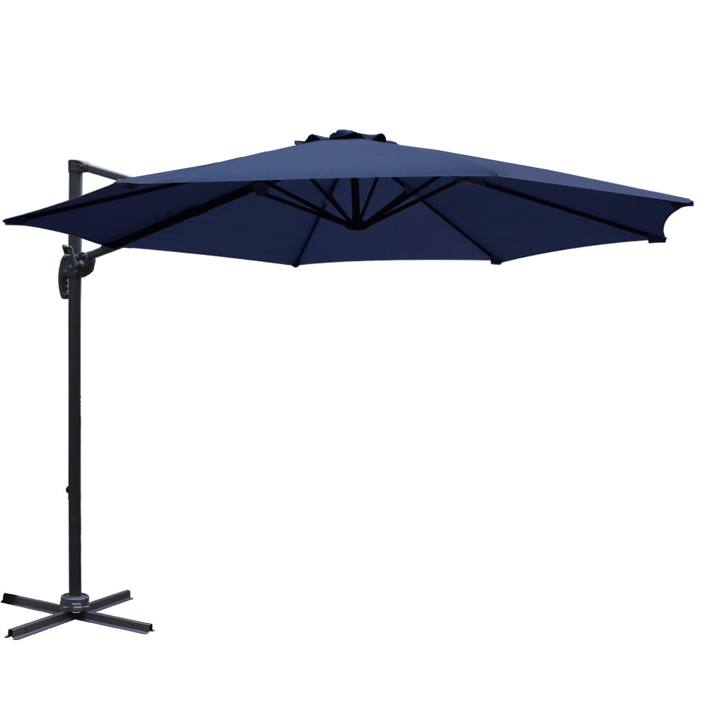 3M Outdoor Umbrella - Navy - The Home Accessories Company