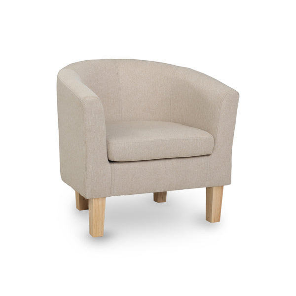 Tub Lounge Chair - Beige - The Home Accessories Company