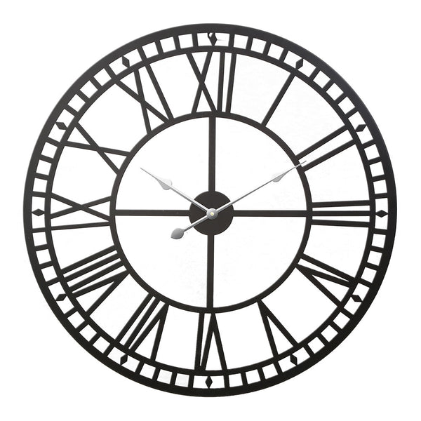 Vintage Style Large Wall Clock - The Home Accessories Company
