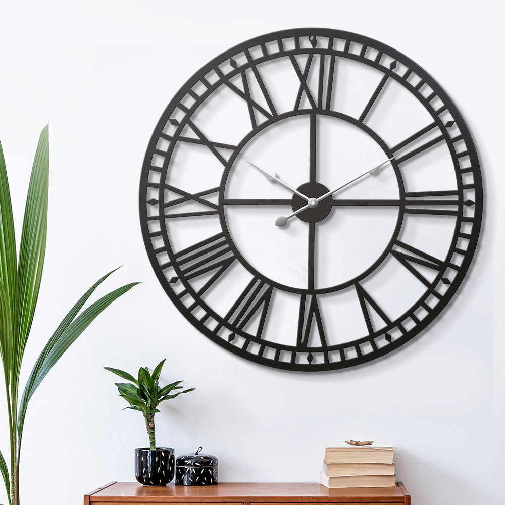 Vintage Style Large Wall Clock - The Home Accessories Company 2