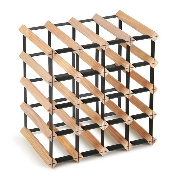 20 Bottle Timber Wine Rack - The Home Accessories Company