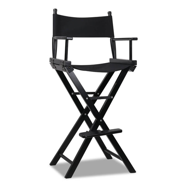 Tall Director Stool - Black - The Home Accessories Company