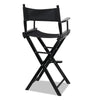 Tall Director Stool - Black - The Home Accessories Company 1