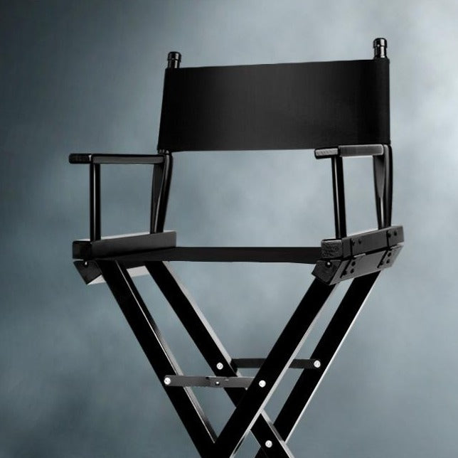 Tall Director Stool - Black - The Home Accessories Company 4
