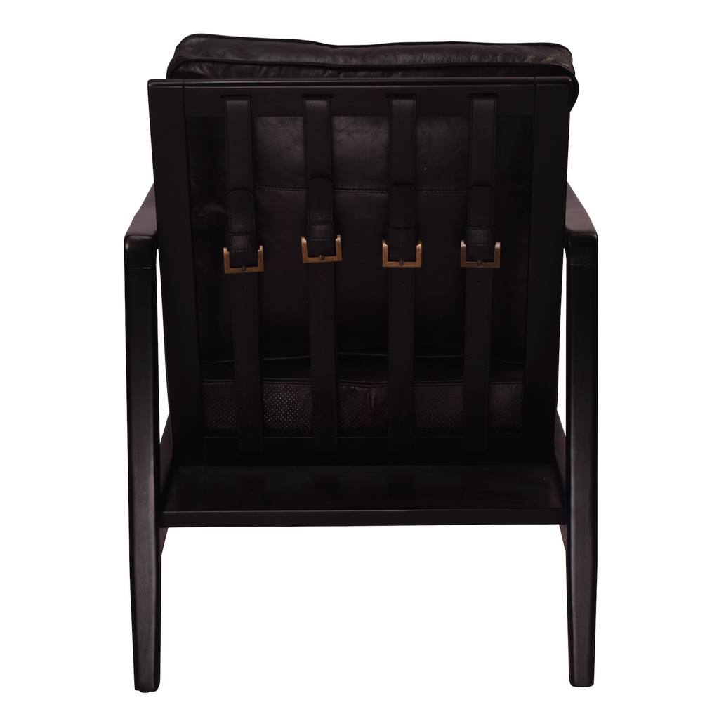 Buckle Leather Chair - The Home Accessories Company 1