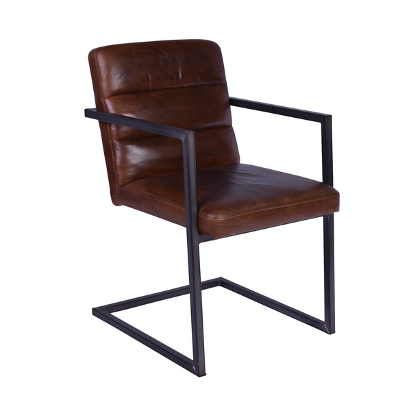 Leather Occasional Chair - The Home Accessories Company