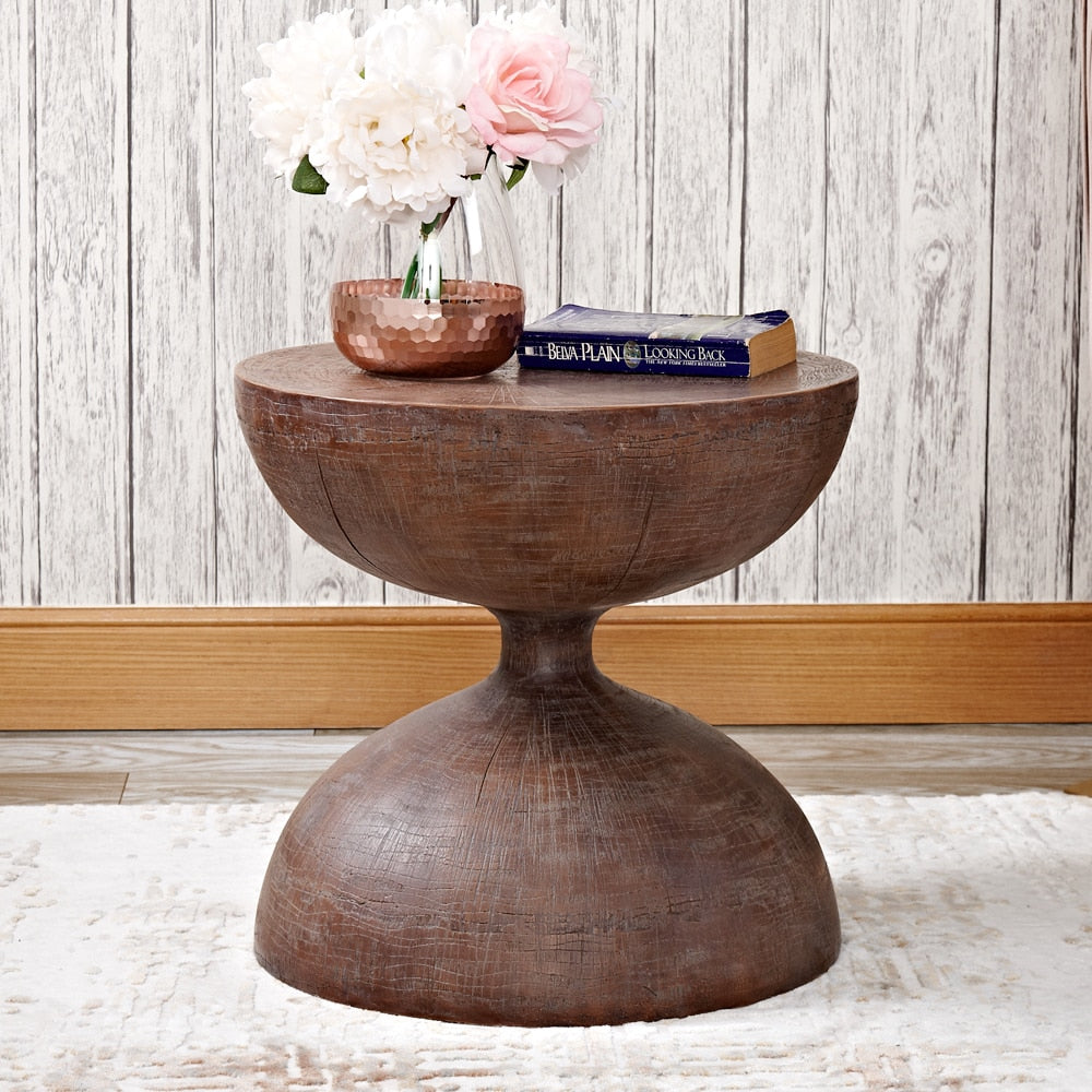 Sand Clock Side Table- The Home Accessories Company