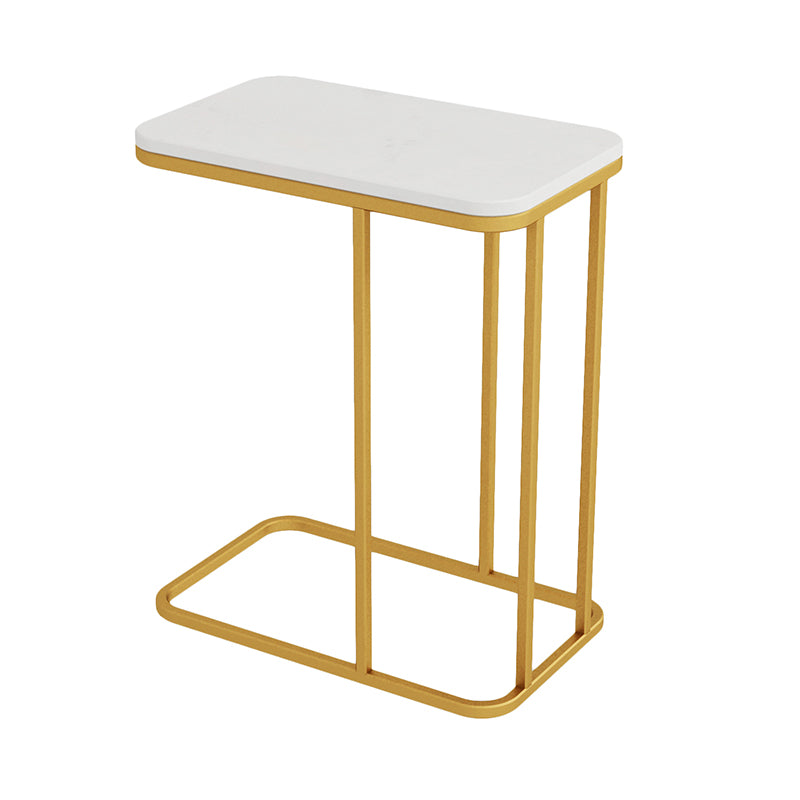 Iron and Marble Effect Side Table- The Home Accessories Company 6