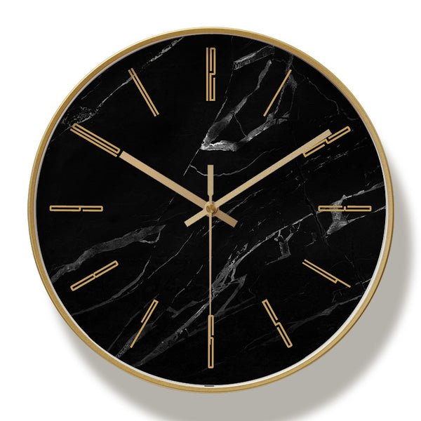 Marble wall clock- the home accessories company