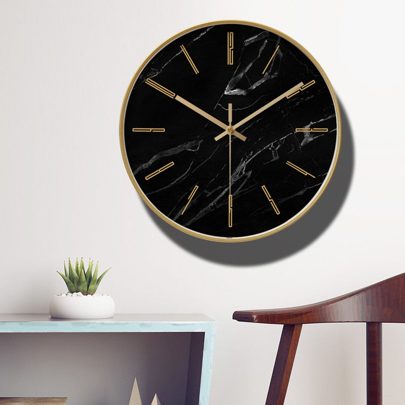 Marble wall clock- the home accessories company1
