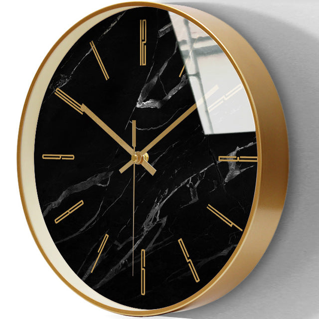 Marble wall clock- the home accessories company2