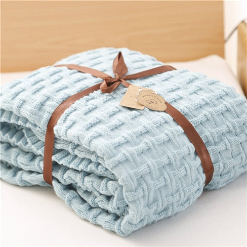 knitted blanket throw- The Home Accessories Company 4