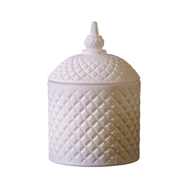 Scented candle in decorative jar- the home accessories company