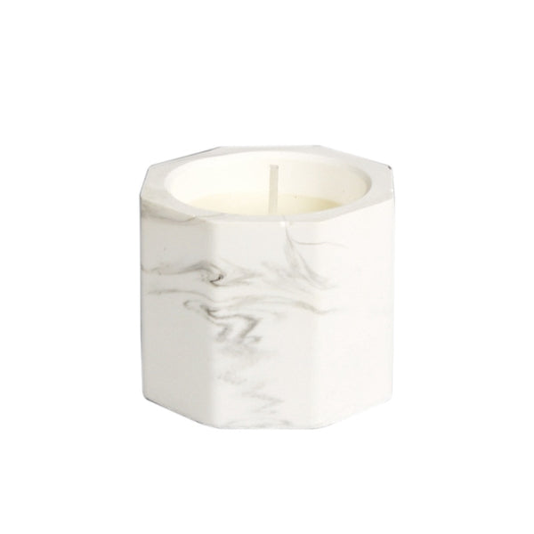 Marble Scented Candle- the home accessories company